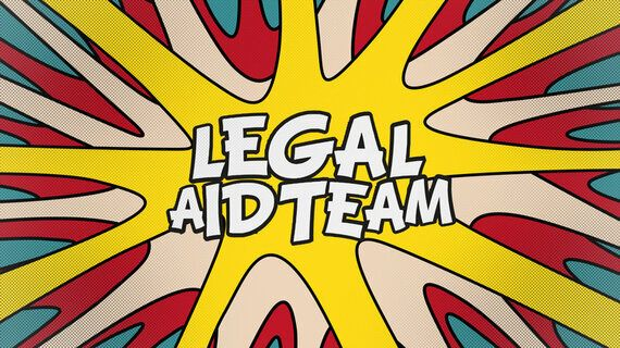 Legal Aid Team: An Animated Response to the Legal Aid