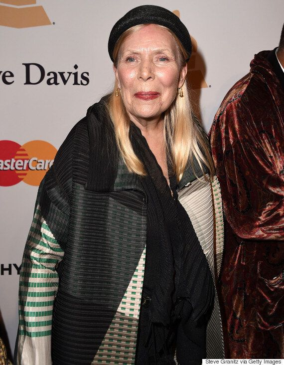 Joni Mitchell 'In Intensive Care' After Being Rushed To Hospital In