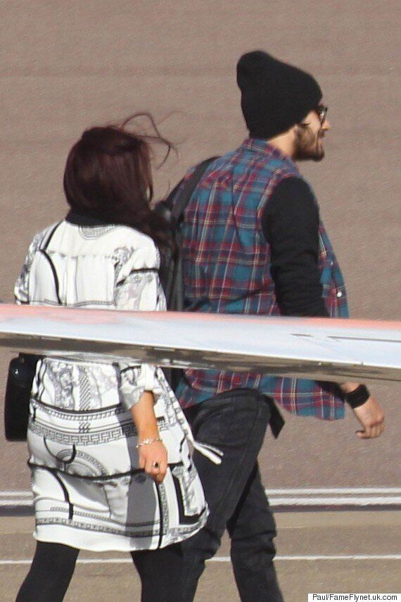 Zayn Malik And Perrie Edwards Jet Out Of The UK Following One Direction Drama