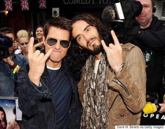 Russell Brand Is 'Pissed Off' Tom Cruise Didn't Want Him In