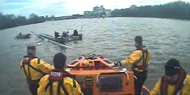 Oxford University Women's Rowing Crew Sinks In Thames Week Before Boat