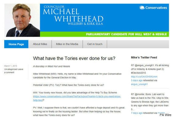 Ukip Secure Another Conservative Defector As Parliamentary Candidate Mike Whitehead Ditches