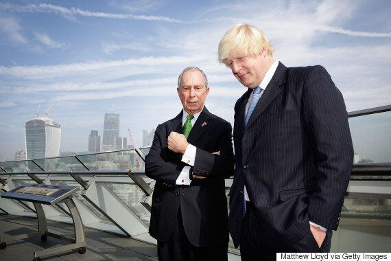 Boris Joins Murdoch In Pushing Story About Michael Bloomberg Running For London