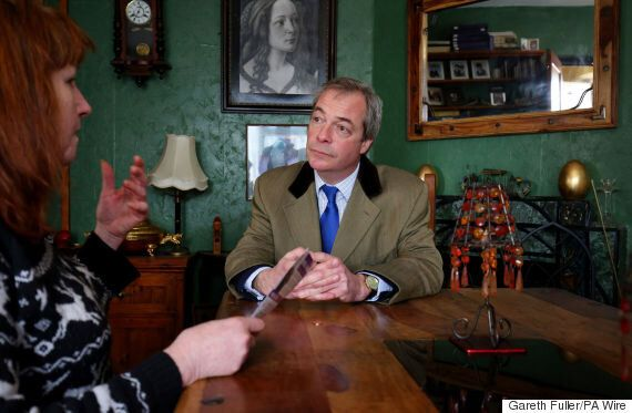 Nigel Farage Tells 'Tearful' Voter Ukip Does Not Support Coalition's 'Divisive' Bedroom