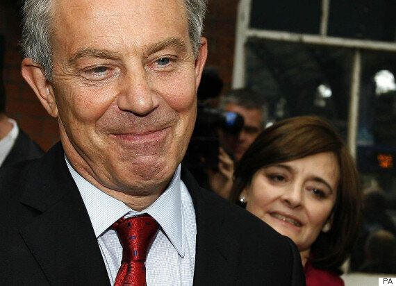 Tony And Cherie Blair Return To Campaign Politics Ahead Of The General