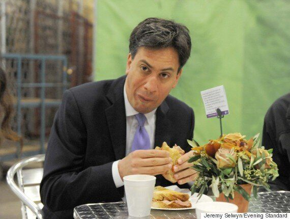 David Cameron Has Bacon Sandwich Moment Eating Haggis On General Election 2015 Campaign