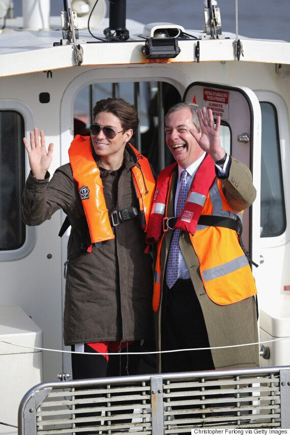 Joey Essex Meets Nigel Farage For ITV2 'General Election: What Are You Saying?!' Special