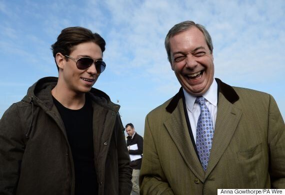 Nigel Farage Met Joey Essex On A Fishing Boat In The General Election's Most Bizarre Moment
