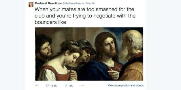 'Medieval Reactions' Is Taking Twitter By Storm, And It's