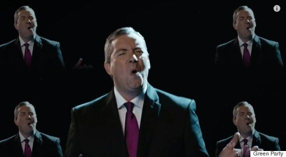 Green Party Makes 'Change The Tune' Boyband Video For General Election