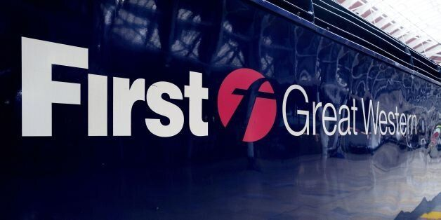 File photo dated 21/05/13 of the First Great Western logo on a train, as workers at the rail company...
