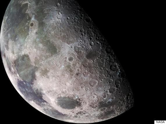 The Moon May Have Been Like Earth Before It Collided With