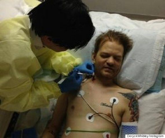 Sum 41 Frontman Deryck Whibley Still Learning To Walk Properly Following Alcohol Collapse A Year