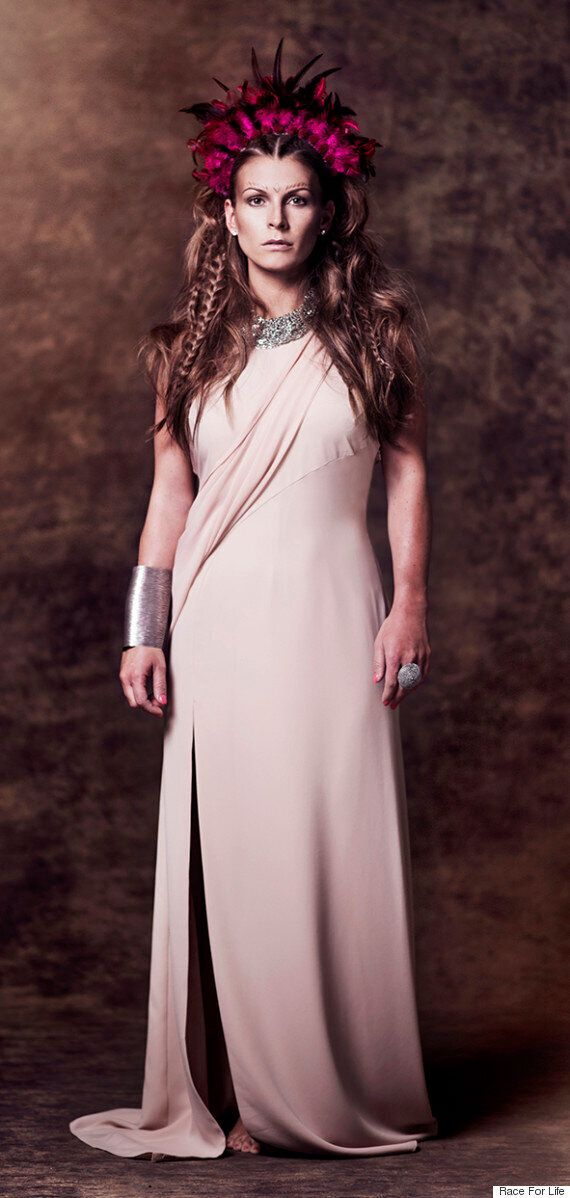 Coleen Rooney And Nadine Coyle Get 'Game Of Thrones' Makeovers To Launch Cancer Research UK's Race For