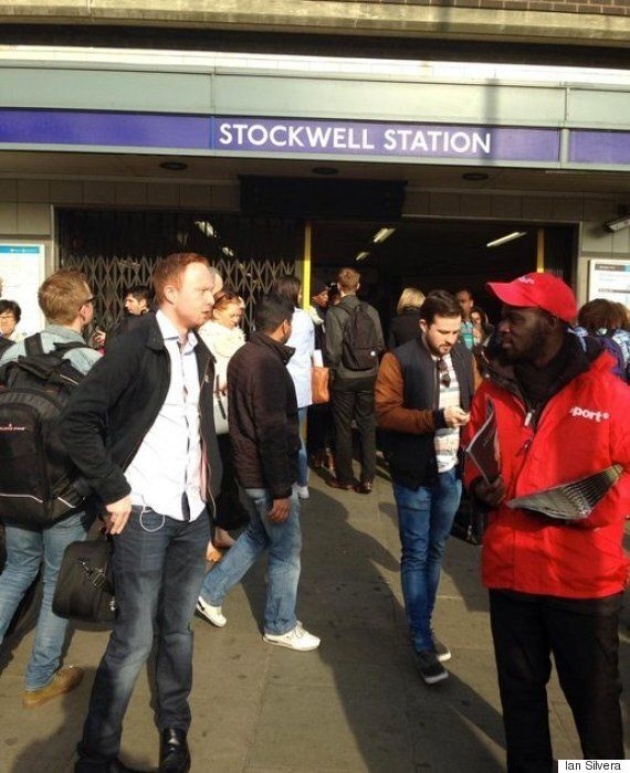 Tube Train Hits Commuter On Head At Stockwell Underground