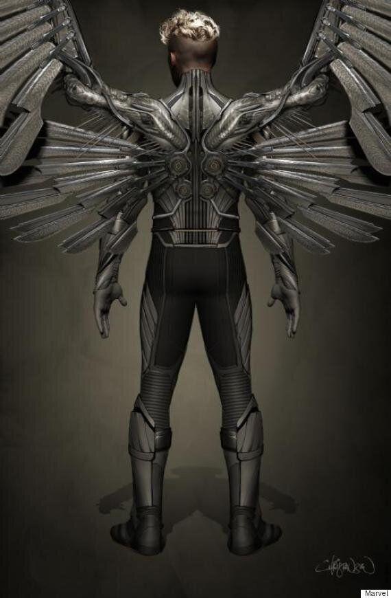 'X-Men: Apocalypse' Film: Ben Hardy's 'Angel' Character Revealed In New Concept Art