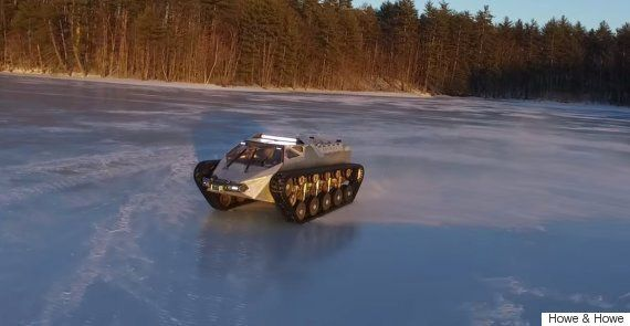 The Ripsaw EV2 Is Basically A Supercar
