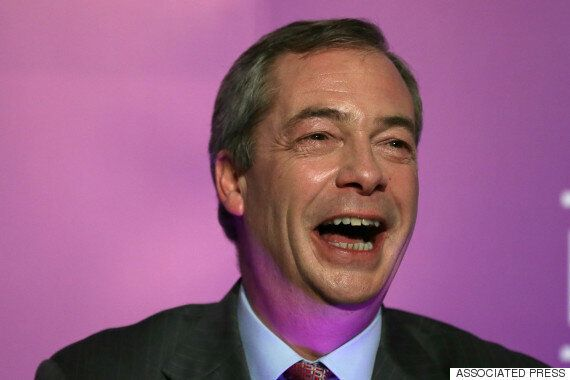 Nigel Farage Twice As Likely To Be Supported By Other