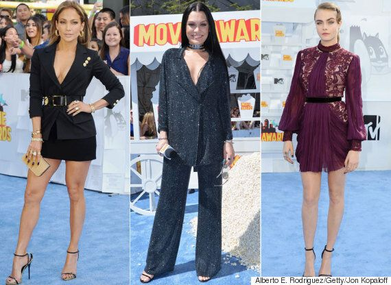MTV Movie Awards Red Carpet: The Best And Worst Dressed Stars At The 2015 Ceremony