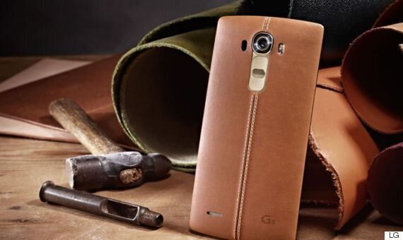 LG Leaks Its Leather Clad LG G4 Way Ahead Of