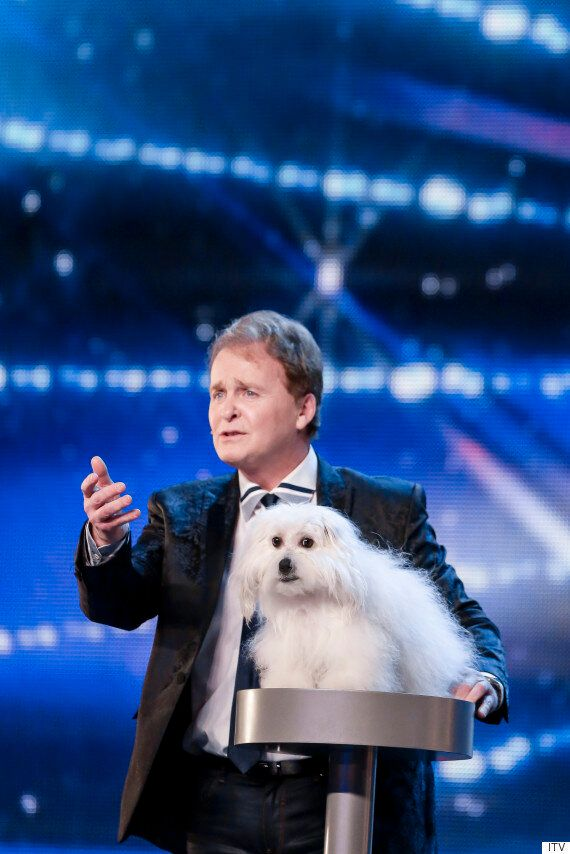 'Britain's Got Talent': Marc Metral And His Talking Dog Act Are Nothing New To 'Got Talent'