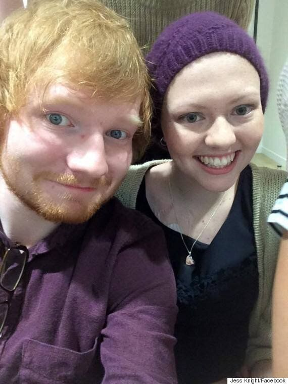 Ed Sheeran Visits Cancer Patient Jess Knight In New Zealand Hospital After She Misses Concert