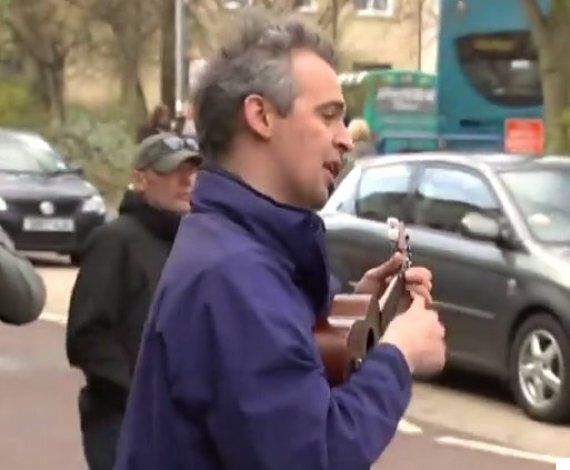 David Cameron Serenaded By Ukulele Player Singing 'F**k Off Back To
