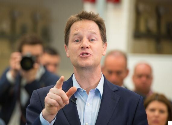 Clegg Would Go Back Into Coalition With The Tories But Not With Proposed £12 Billion Welfare