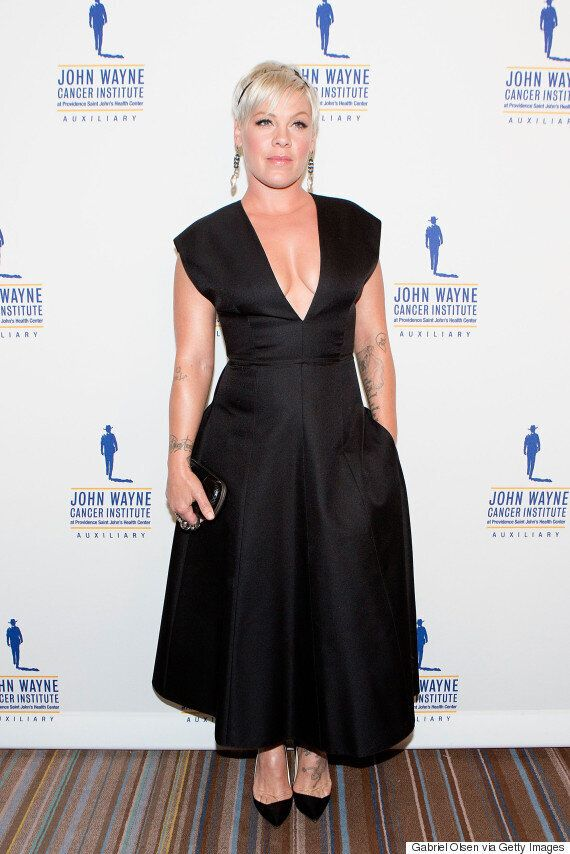 Pink Slams Weight Critics On Twitter: 'I Feel Beautiful... Don't Worry About