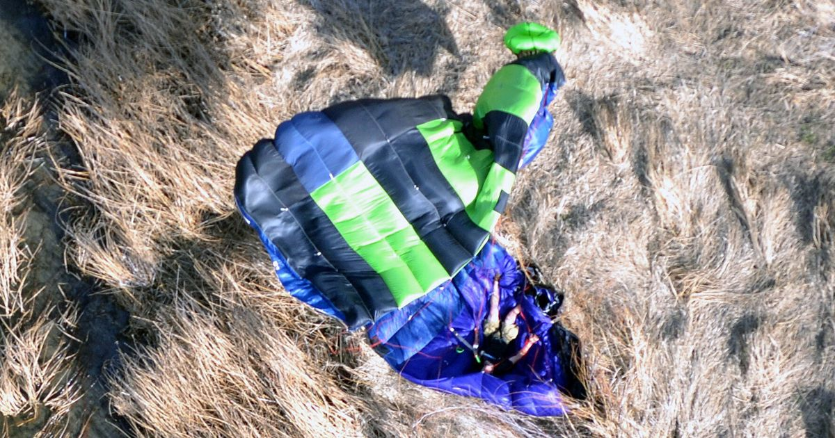 Base Jumpers Break Their Backs In 500ft Fall, Make Full Recovery And