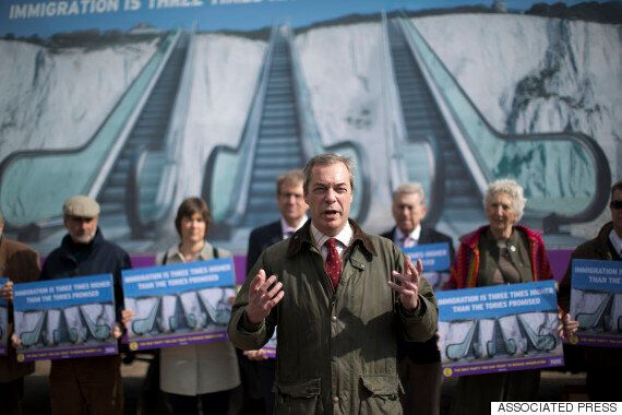 General Election 2015: Ukip Leader Nigel Farage Says His Is 'Party Of