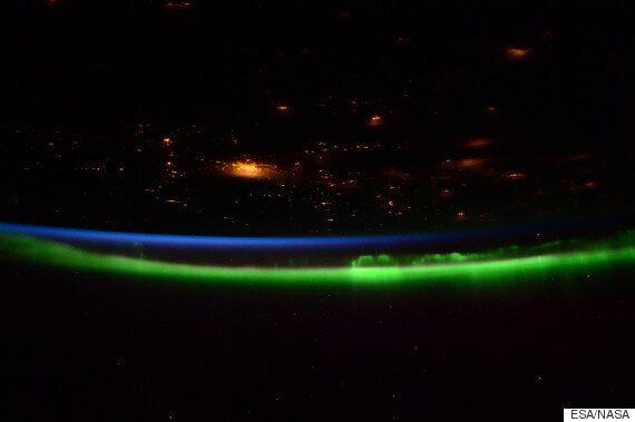 ESA Astronaut Captures Stunning Aurora At Night From The