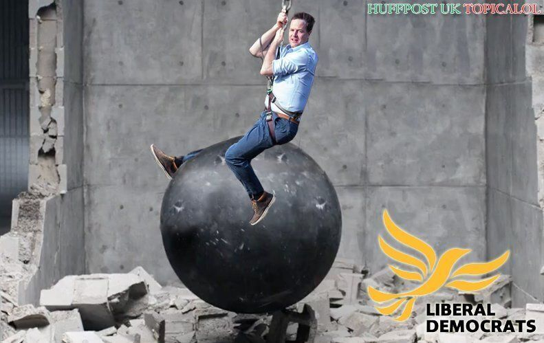 Nick Clegg Channels Miley Cyrus In 'Wrecking Ball' General Election