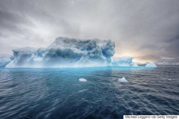 This Man Will Spend A Year Studying Icebergs Inside A Giant Metal