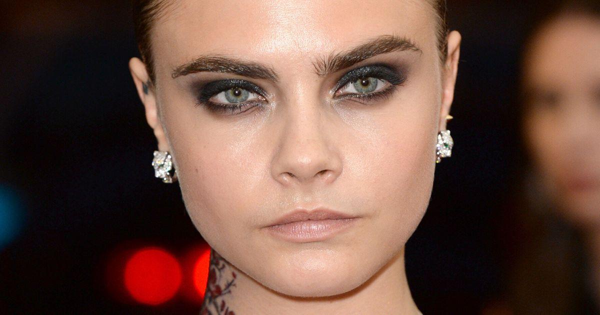 How To Get Smouldering Cara Delevingne Smokey Eye Makeup Huffpost Uk