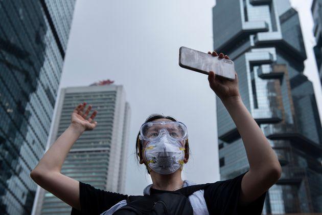 홍콩 범죄인 인도 조약 반대 시위 도중 텔레그램에 중국발 디도스 공격이