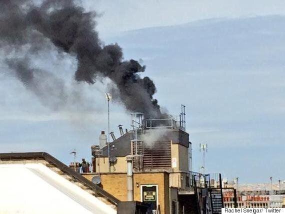 Great Portland Street Fire: Blaze Breaks Out Close To