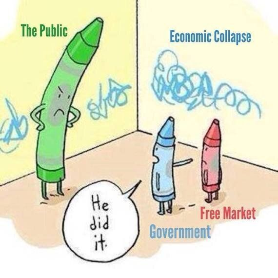 Stop Blaming Capitalism for our Economic Woes and Start Blaming the