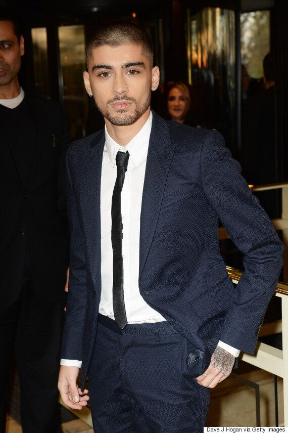 Zayn Malik Debuts Shaved Head And Thanks Former One Direction Bandmates In Acceptance Speech At The Asian...