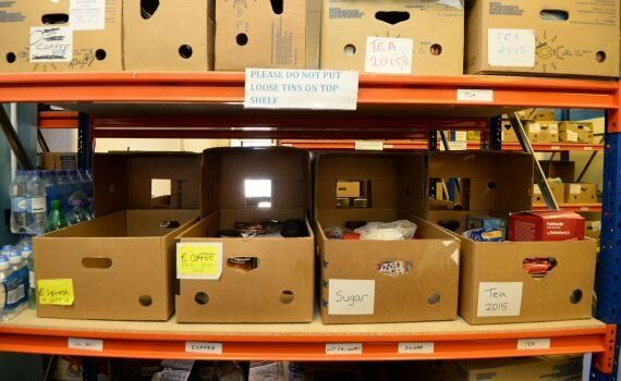 Food Bank Figures Expected To Show More Than A Million Britons Now Rely On Charity