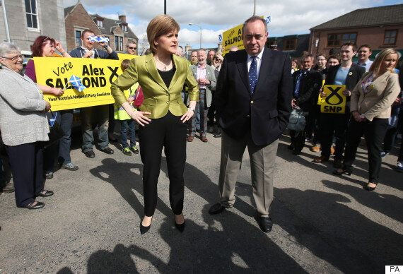 Alex Salmond And Nicola Sturgeon Morph Into A Seventies Double