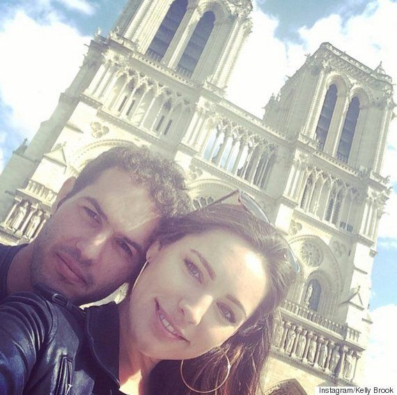 Kelly Brook Praises New Boyfriend Jeremy Parisi... And Slates Ex-Fiancé David