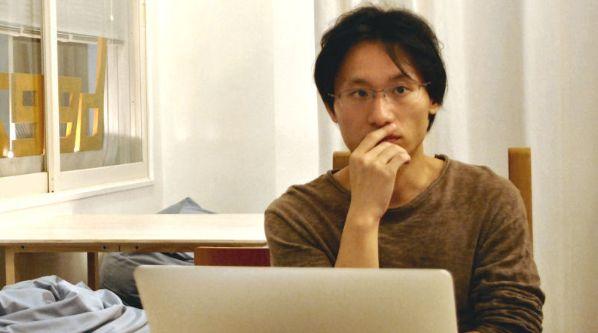 ひきこもり当事者によるメディア『ひきポス』編集長の石崎森人さん(筆者撮影)