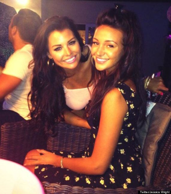 Michelle Keegan Asks Fiancé Mark Wright's 'TOWIE' Star Sister Jessica To Be Her