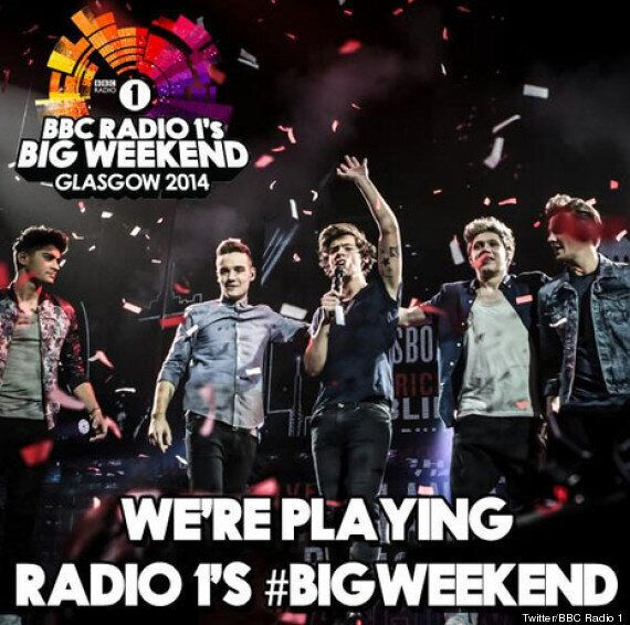 One Direction, Lily Allen, Bastille Added To Radio 1's Big Weekend Line-Up In