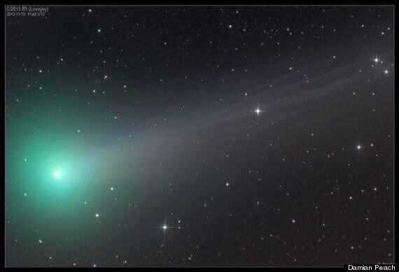 Comet ISON Photos Show Detail Of Tail But Fails To Dazzle So