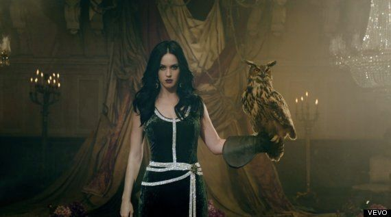 Katy Perry 'Unconditionally' Video Sees Star Get Hit By A Car