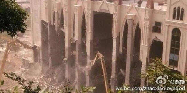 China's Demolition Of Sanjiang Church Prompts Fears Of Crackdown On