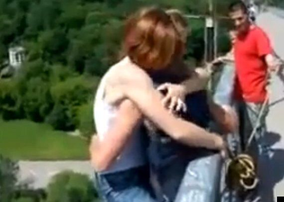 Woman Bungee Jumps Without Harness In Russia, Branded 'Dumb'