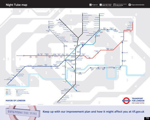 London Underground To Run 24 Hours At Weekends From